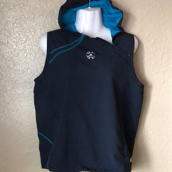 64e914e4672d adidas Jackets   Blazers - Adidas Women Athletic Windbreaker Vest Jacket  hood
